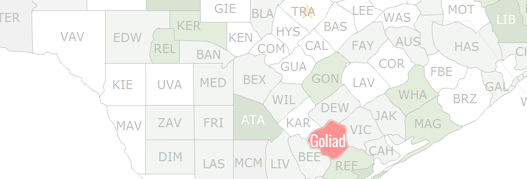 Goliad County Map